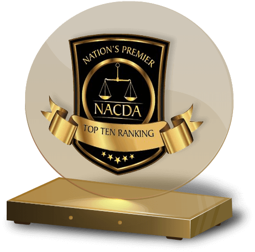 NACDA Top Ten Ranking Attorney