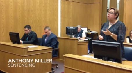 Anthony Miller sentencing